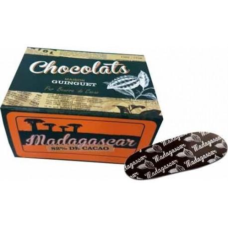 Chocolat noir 82 % MADAGASCAR