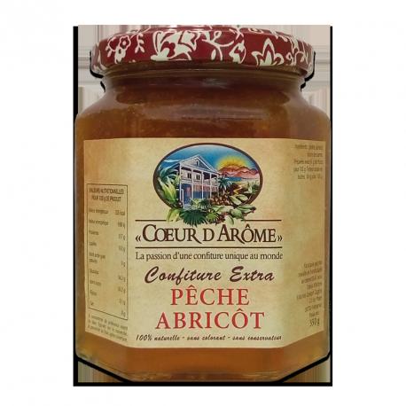 Confiture Pêche-Abricot